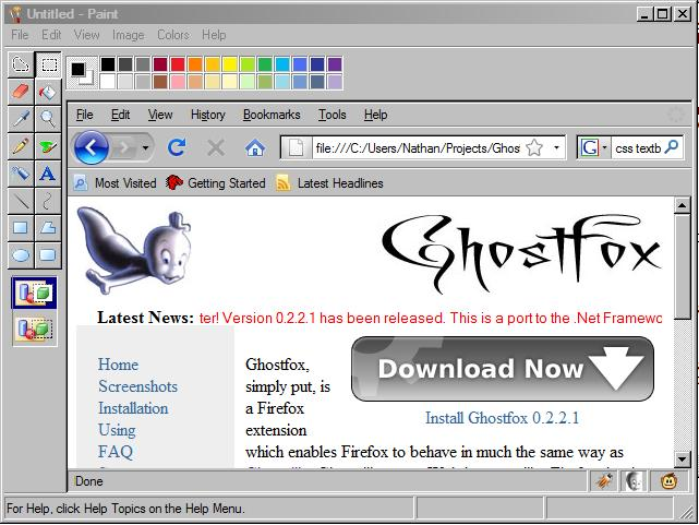 Ghostfox Screenshot